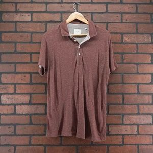 BILLY REID Mens Pensacola Polo Rust Size Large